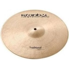 "Istanbul Traditional 10"" Mini Hi Hat Cymbals (pair)"
