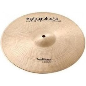 "Istanbul Traditional 13"" Medium Hi Hat Cymbals (pair)"