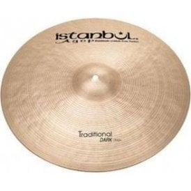 "Istanbul Traditional 14"" Dark Crash Cymbal"