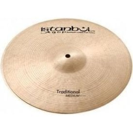 "Istanbul Traditional 14"" Medium Hi Hat Cymbals (pair)"