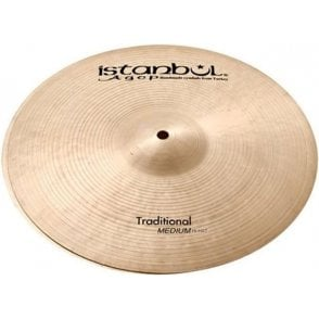 "Istanbul Traditional 15"" Light Hi Hat Cymbals (pair)"