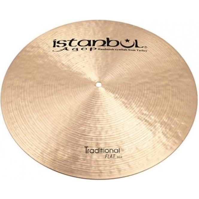 """Istanbul Traditional 19"""" Flat Ride Cymbal"""