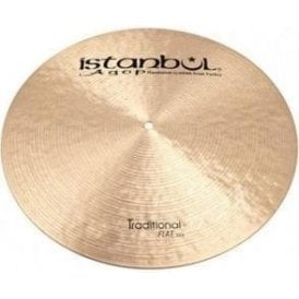 "Istanbul Traditional 19"" Flat Ride Cymbal"