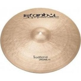 "Istanbul Traditional 19"" Original Ride Cymbal"