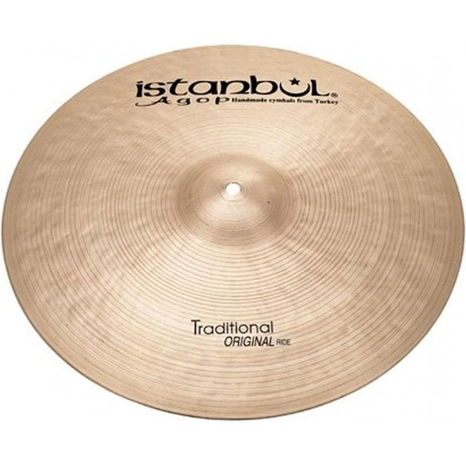 """Istanbul Traditional 22"""" Original Ride Cymbal"""