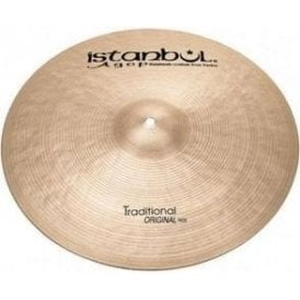 "Istanbul Traditional 22"" Original Ride Cymbal"