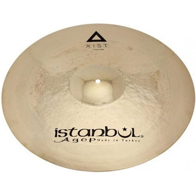"Istanbul Xist 19"" Power Crash Cymbal - Brilliant Finish"