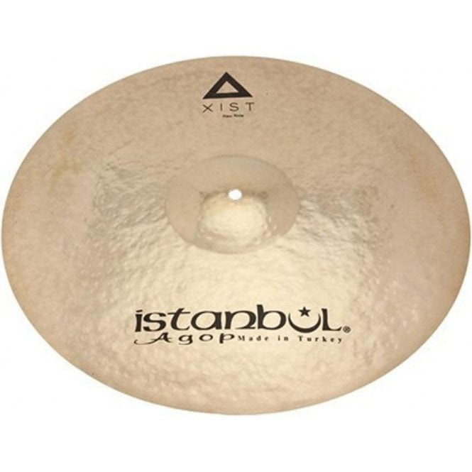 "Istanbul Xist 20"" Raw Ride Cymbal - Brilliant Finish"