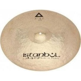 "Istanbul Xist 22"" Raw Ride Cymbal - Brilliant Finish"