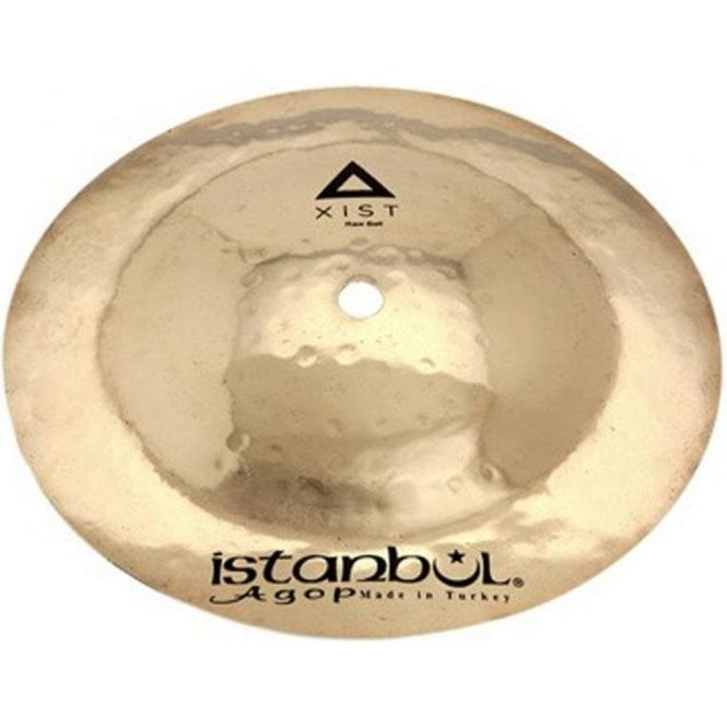 "Istanbul Agop Istanbul Xist 8"" Raw Bell Cymbal - Brilliant Finish"