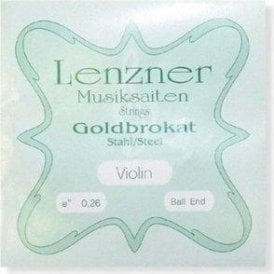 Lenzner Goldbrokat 1/2 Size Violin Strings