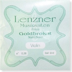 Lenzner Goldbrokat 3/4 Size Violin Strings