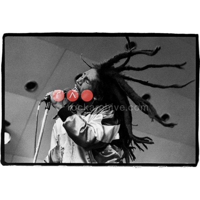 Rock Archive Limited Edition Rock Archive Print - Bob Marley