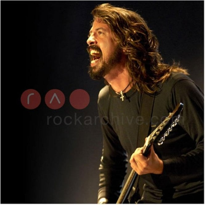 Rock Archive Limited Edition Rock Archive Print - Dave Grohl, Foo Fighters