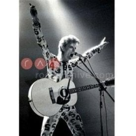 Limited Edition Rock Archive Print - David Bowie