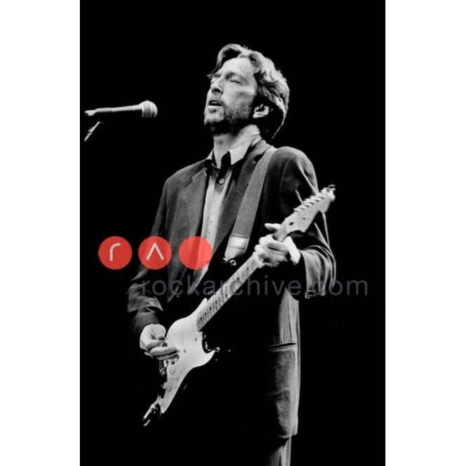 Rock Archive Limited Edition Rock Archive Print - Eric Clapton