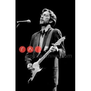 Limited Edition Rock Archive Print - Eric Clapton