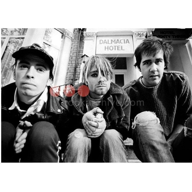 Rock Archive Limited Edition Rock Archive Print - Nirvana