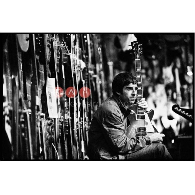 Rock Archive Limited Edition Rock Archive Print - Noel Gallagher Oasis