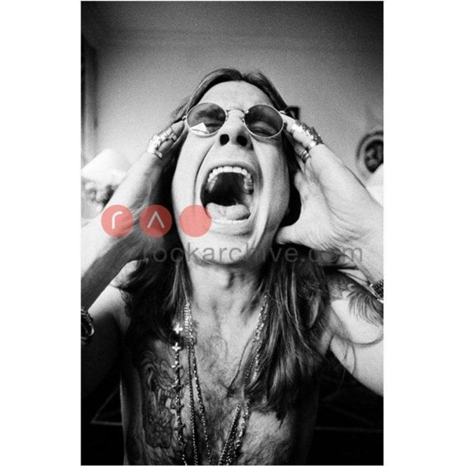 Rock Archive Limited Edition Rock Archive Print - Ozzy Osborne
