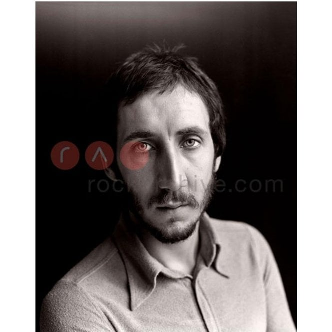 Rock Archive Limited Edition Rock Archive Print - Pete Townshend