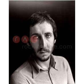 Limited Edition Rock Archive Print - Pete Townshend