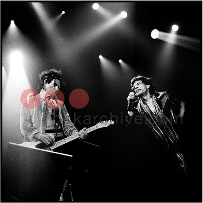 Limited Edition Rock Archive Print - The Rolling Stones