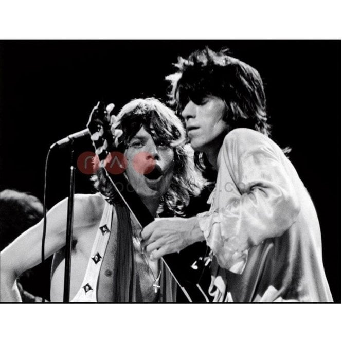 Rock Archive Limited Edition Rock Archive Print - The Rolling Stones