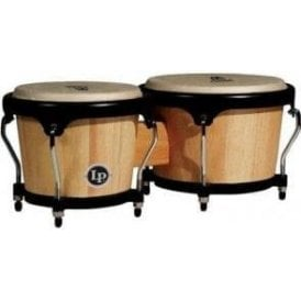 LP Aspire Wood Bongos - Natural Finish LPA601AW