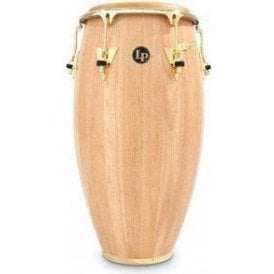 "LP Classic Wood Conga LP552XAW - 12.5"" Tumba Natural Finish with Gold Fittings"