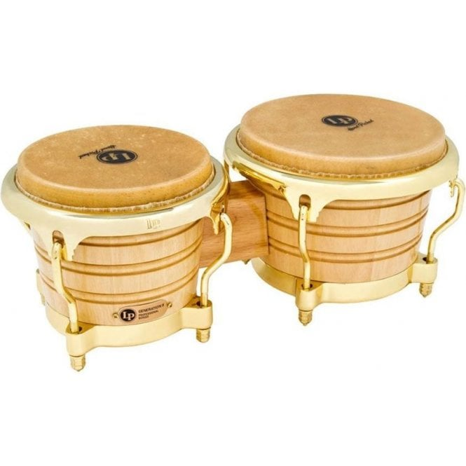 LP Generation II Siam Oak Bongos LP201AX2AW | Buy at Footesmusic