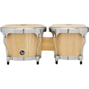 LP Highline Bongos Natural Finish LPH601SNC | Buy at Footesmusic