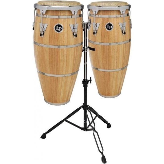 LP Highline Congas Inc Stand Natural Finish LPH646SNC | Buy at Footesmusic