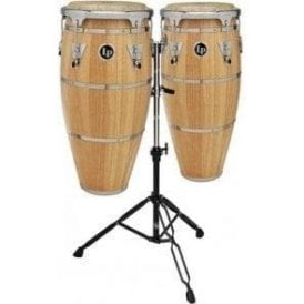LP Highline Congas LPH646SNC Inc Stand Natural Finish