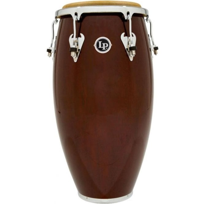 "LP M750SW Matador Conga 11"" Quinto - Dark Brown & Chrome"