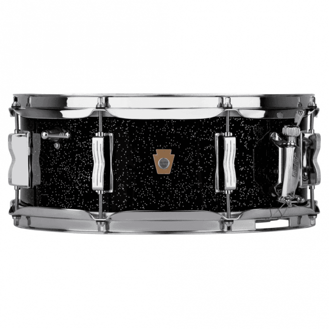 Ludwig 14x5.5 Jazz Festival Snare Drum - Black Galaxy Finish