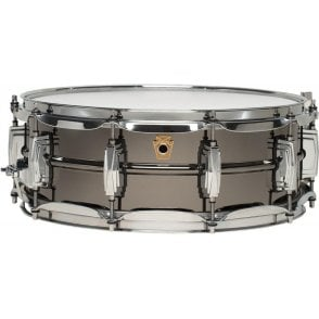 Ludwig 14x5 Black Beauty Supraphonic Snare Drum LB416 | Buy at Footesmusic
