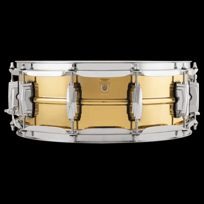 Ludwig 14x5 Brass Super Series Snare Drum LB401 | Buy at Footesmusic