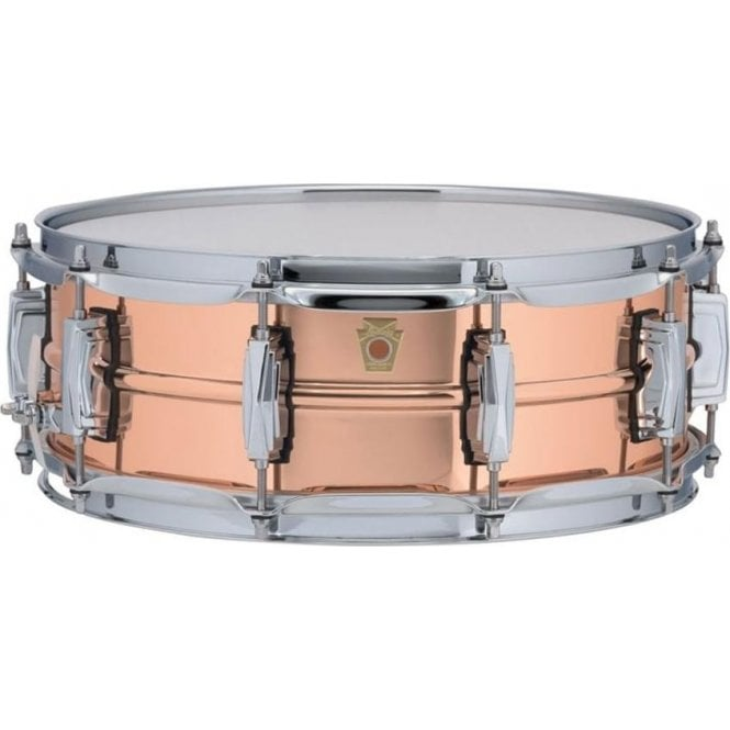 Ludwig 14x5 Copper Phonic Snare Drum - Tube Lugs