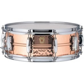 Ludwig 14x5 Hammered Copper Phonic Snare Drum - Imperial Lugs