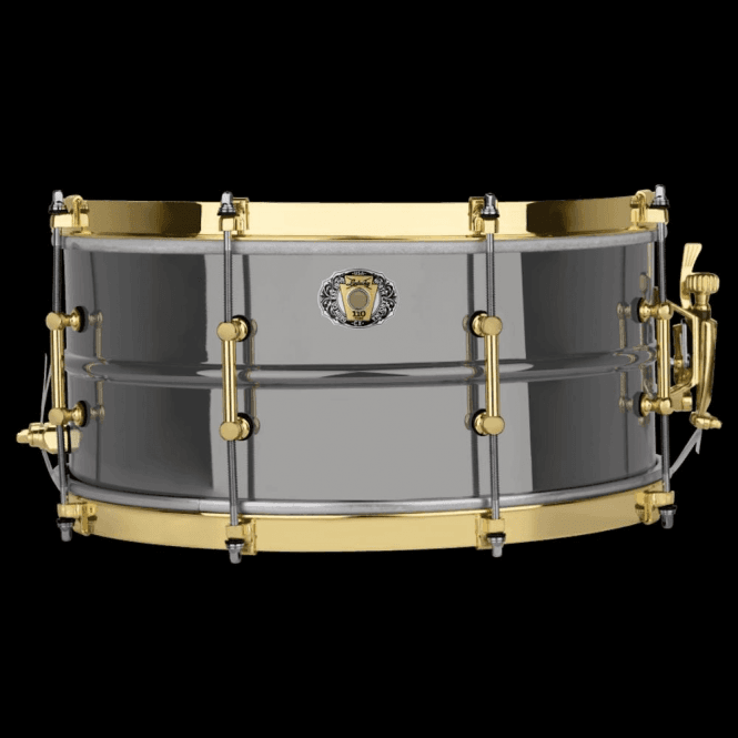 Ludwig 14x6.5 Black Beauty 110th Anniversary Snare Drum LB407XXCX | Buy at Footesmusic