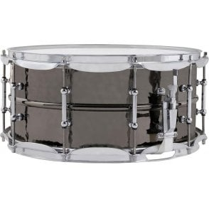 Ludwig 14x6.5 Black Beauty Supraphonic Snare Drum with Tube Lugs