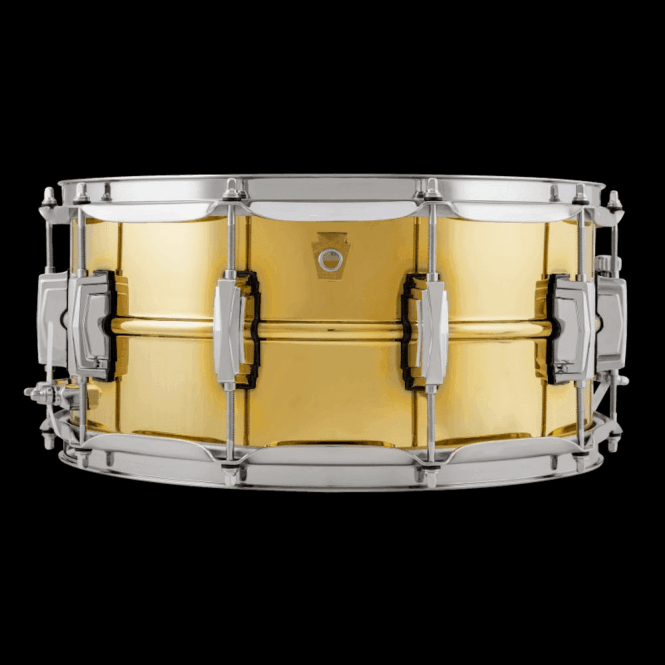 Ludwig 14x6.5 Brass Super Series Snare Drum LB403 | Buy at Footesmusic
