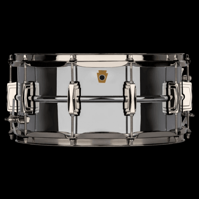 Ludwig 14x6.5 Chrome on Brass Super Series Snare Drum LB402BN | Buy at Footesmusic