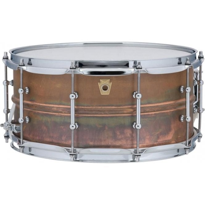 Ludwig 14x6.5 Copper Phonic Snare Drum - Tube Lugs LC663T | Buy at Footesmusic