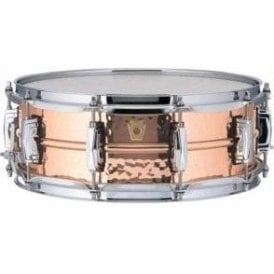 Ludwig 14x6.5 Hammered Copper Phonic Snare Drum - Imperial Lugs