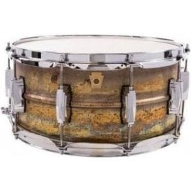 Ludwig 14x6.5 Raw Brass Shell Snare Drum