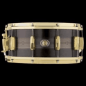 Ludwig 14x7 Heirloom Black Brass 110th Anniversary Snare Drum LBR0714CX | Buy at Footesmusic