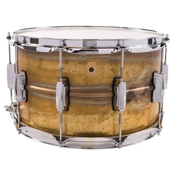 Ludwig 14x8 Raw Brass Shell Snare Drum