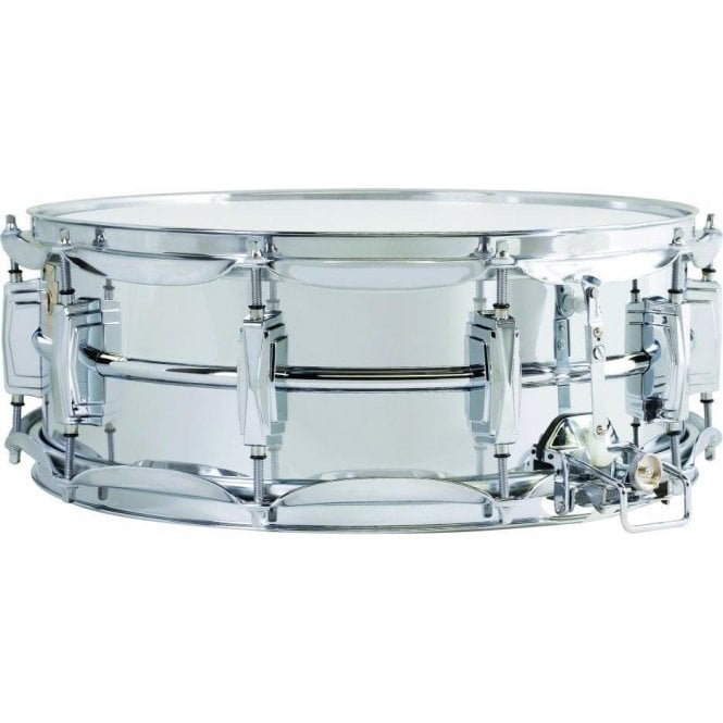 Ludwig 402 14x6.5 Chrome on Brass Supraphonic Snare Drum LB402B | Buy at Footesmusic